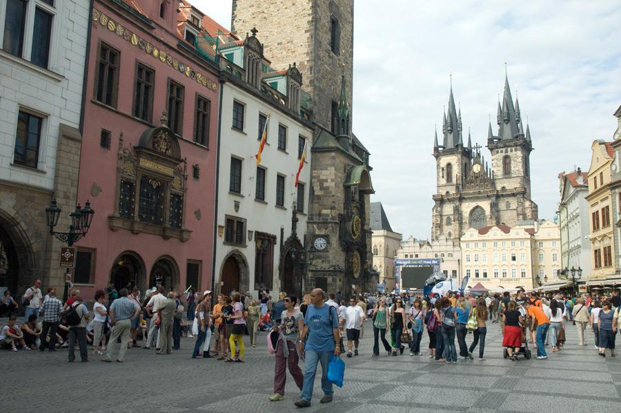 Prague for Prague center